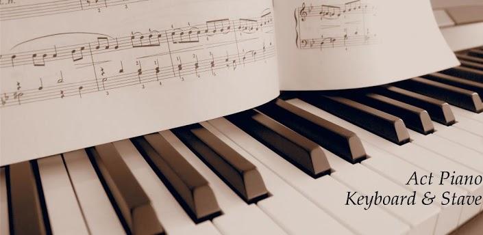 八度钢琴键盘示意图