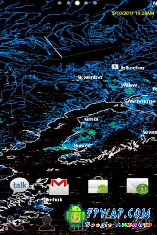 动态壁纸 重力感应桌面世界天气分布图 v1.04