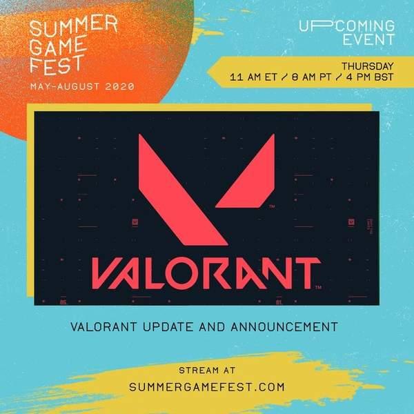 拳头携《Valorant》亮相今夜夏日游戏节 或公布发售日 (2)