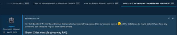 PS4/Xbox喜加一!《城市:天际线》DLC限时免费领取 (1)