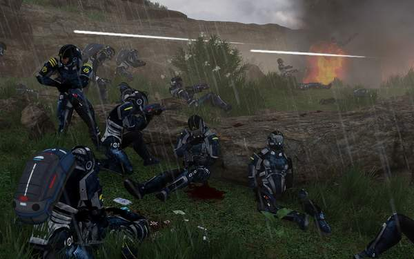 《武装突袭3》质量效应/星战Mod 各式原力光剑乱入 (3)