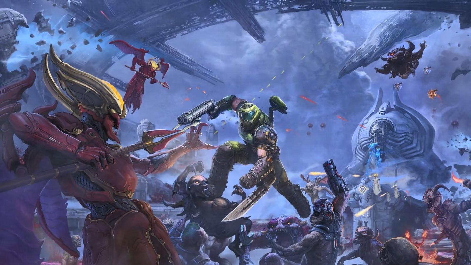 《毁灭战士:永恒》简短预告 《雷神之锤》免费领 (1)