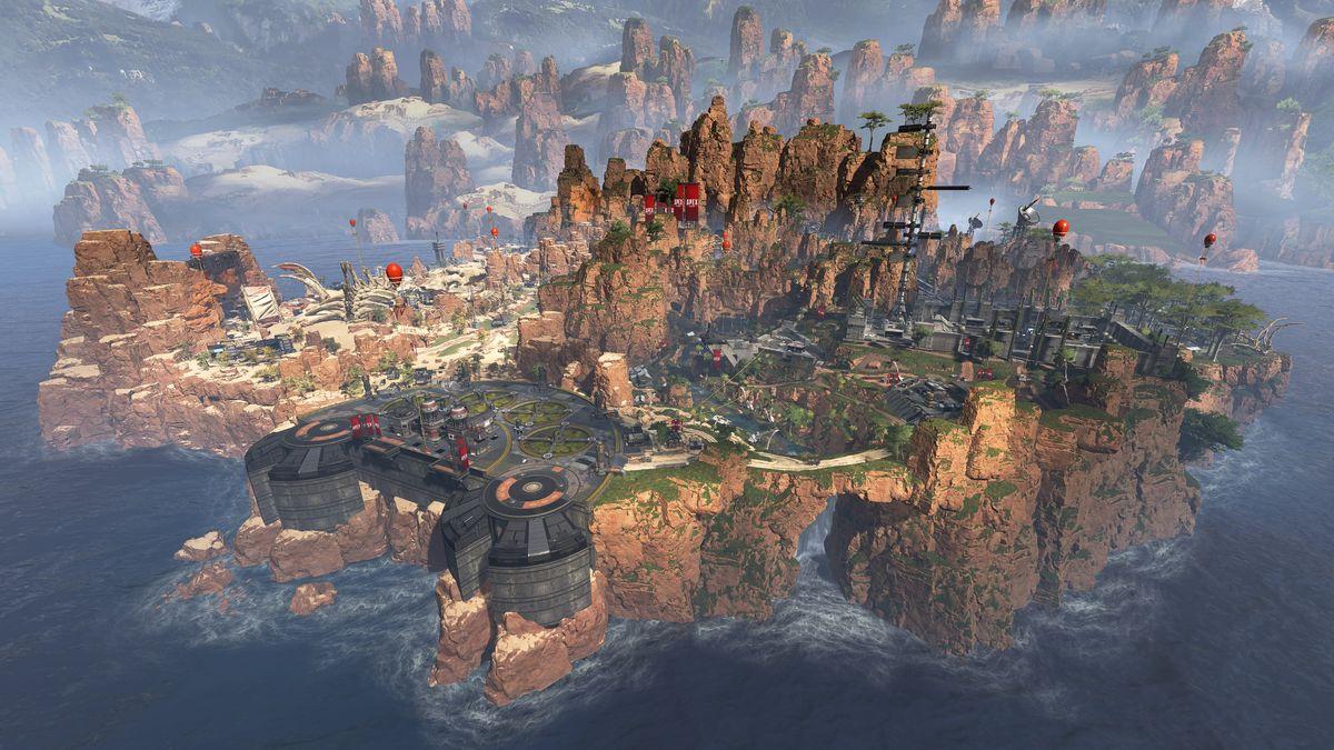 """《Apex英雄》数据挖掘 全新地图""""热带岛屿""""曝光 (2)"""