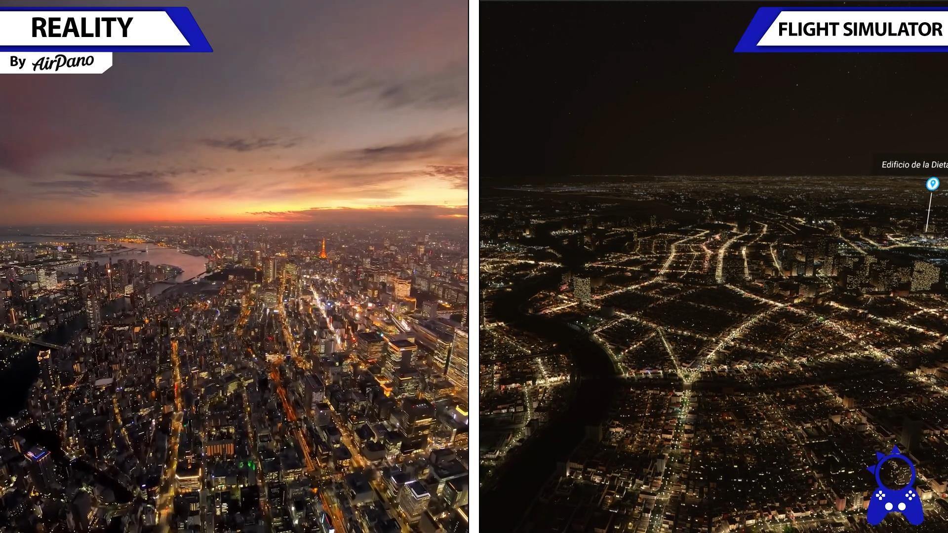 《微软飞行模拟》游戏画面对比现实场景 高度还原 (5)
