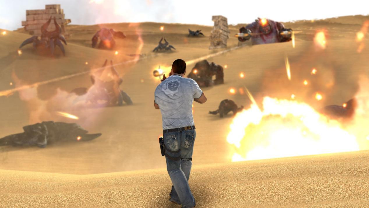 和《毀滅戰士》一樣不需要劇情的FPS 《英雄薩姆》卻走得更加艱難 (8)