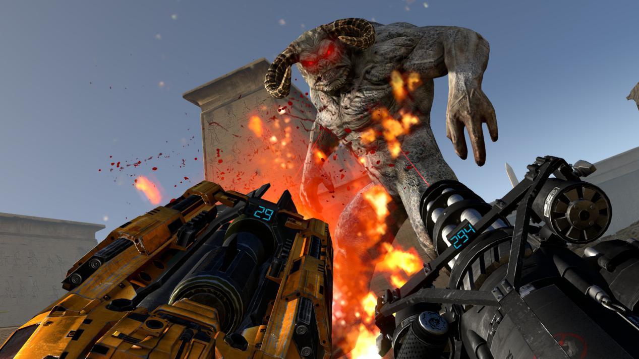 和《毀滅戰士》一樣不需要劇情的FPS 《英雄薩姆》卻走得更加艱難 (10)