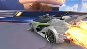 QQ飞车手游隐藏A车圣光使者视频 5个喷口的A车就是溜